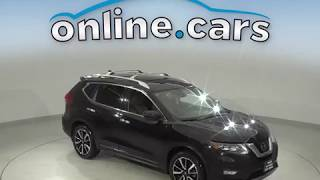 C10694TR Used 2017 Nissan Rogue SL FWD 4D Sport Utility Black Test Drive, Review, For Sale