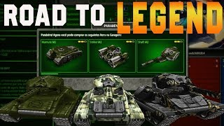Tanki Online Road To Legend (sem comprar cristal #27) Epic battles + Rank Up