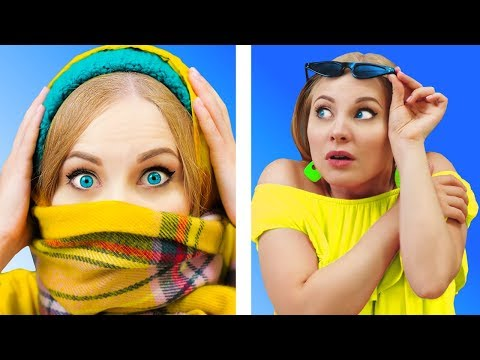 FUNNY WEATHER FAILS || Relatable facts by 5-Minute FUN