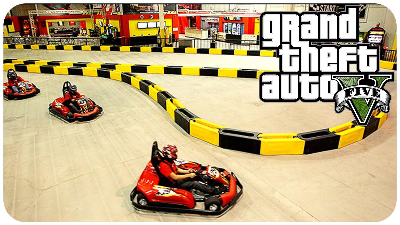 Grand Theft Auto 5 Online Race Go Kart Racing [ GTAONLINE EpicRace ...