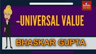 Gambar cover Universal Values By Bhaskar Gupta | Self Help