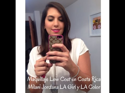 Maquillaje Low Cost en Costa Rica   Milani Jordana LA Girl y LA Color