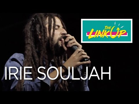 Irie Souljah Live at The Link Up, Kingston, feb 2018