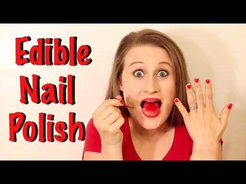 How To Make Edible Nail Polish That Really Works!!! - YouTube