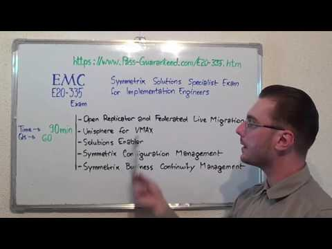 E20-335 – Symmetrix Exam Solutions Test Engineers Questions