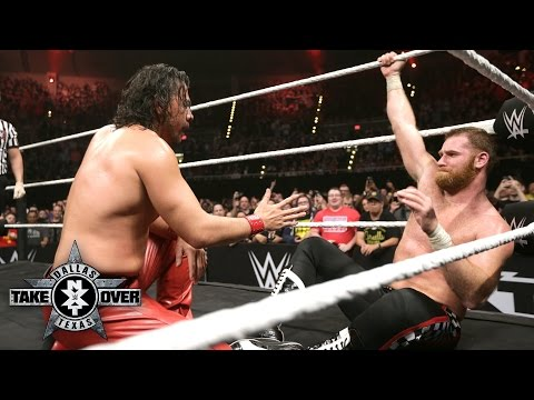 Shinsuke Nakamura and Sami Zayn show each other respect: NXT TakeOver: Dallas on WWE Network