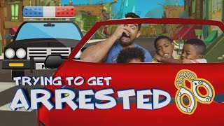 Roblox // Trying to Get Arrested in Vehicle Simulator!! // Father and Sons Gameplay