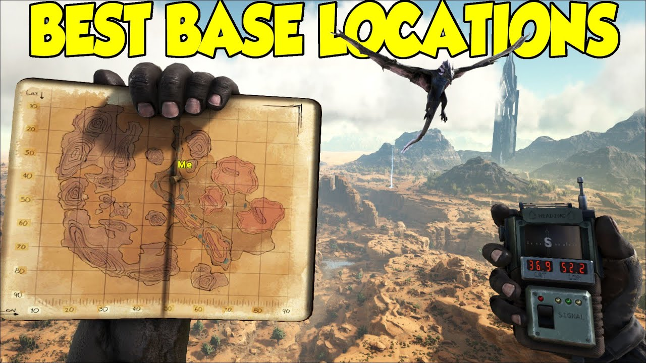 ark scorched earth best base locations over 25 locations youtube