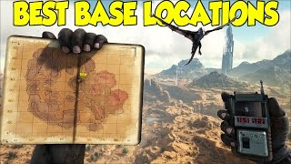 ARK SCORCHED EARTH BEST BASE LOCATIONS! OVER 25 LOCATIONS