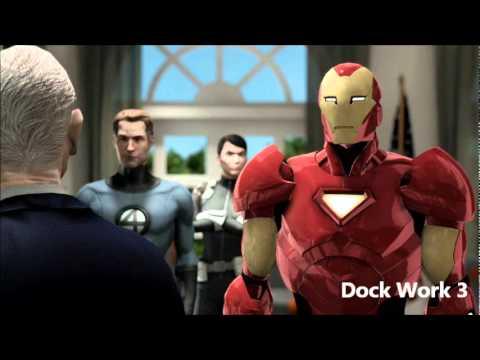 Marvel Ultimate Alliance 2 OST 406 - Dock Work 3