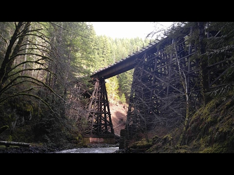 ABANDONED RAILROAD EXPLORATION: Hiking the Port of Tillamook Bay line through the Oregon coast range