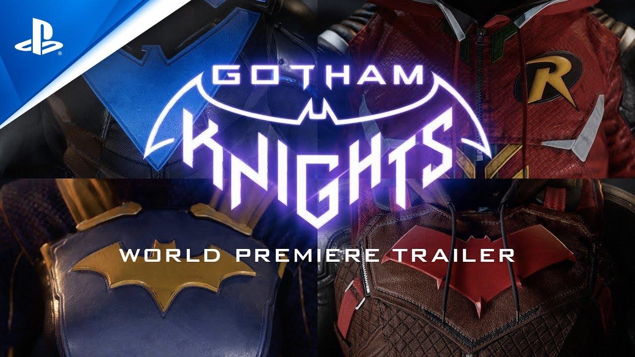 Gotham Knights - Tráiler de estreno mundial | PS4, PS5