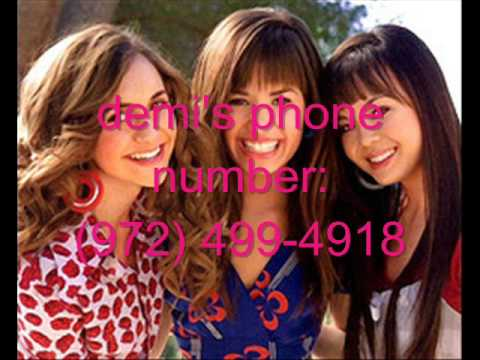 Demi Lovato\u0027s REAL PHONE NUMBER  ADDRESS! WITH PROOF! - YouTube