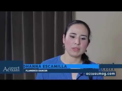 Actual Magazine Interviews Yohanna Escamilla at DigiMed Studios