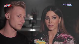 #ХеллоуПипл! : съёмки клипа Мота и Ани Лорак