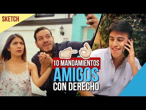 AMIGOS CON DERECHO LOS 10 MANDAMIENTOS - Take Uno Tv