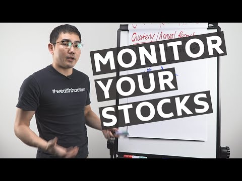 How To Monitor Your Stocks - (Tracking Your Stock Performance)