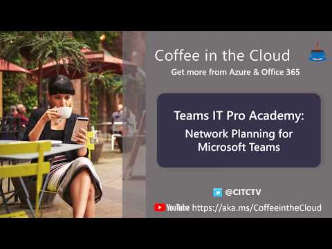 Network Planning for Microsoft Teams