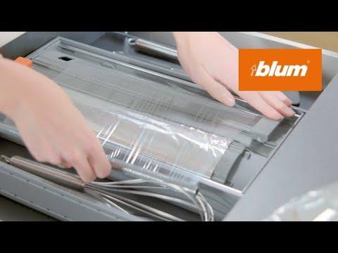Aides De Cuisine Ambia Line Derouleur Coupe Film Astucieux Pour Films Alimentaire Et Aluminium Youtube
