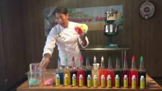 DIY Gourmet Hawaiian Shave Ice