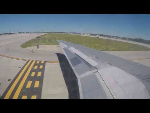 Delta Air Lines MD-90 Full Flight from Milwaukee to Minneapolis