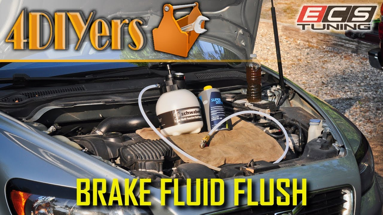 How to Flush Brake Fluid Using a Pressure Bleeder: 12 Steps (with