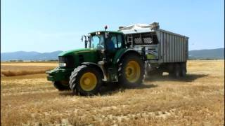 Traktory i Kombajny ŻNIWA 2016 Jęczmień ozimy PD Vechec Claas Tucano 440