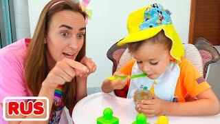 Влад и Никита хотят быть малышами