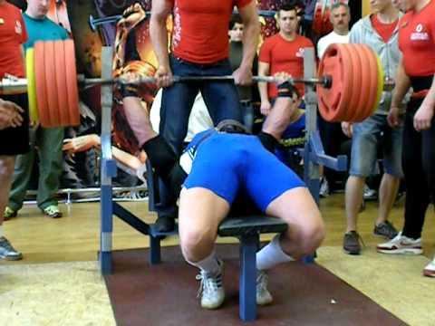 Жим - Фурсов В. 255 кг