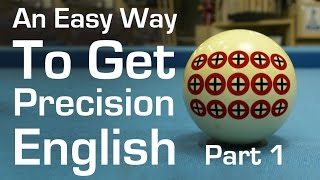 An Easy Way to Get Precision English in Billiards and Pool - Part 1 - Center English