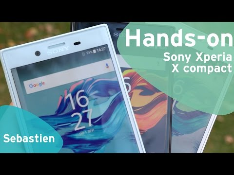 Sony Xperia X Compact hands-on (Dutch)