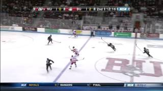 Boston University vs. Northeastern Highlights - 02/28/2014