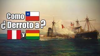 ¿Como hizo Chile para ganar la Guerra del Pacifico?