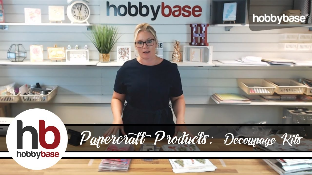 new papercraft products festive decoupage kits and more youtube