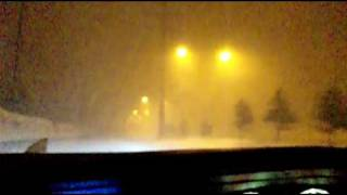 札幌市北区 吹雪 2010年3月1日