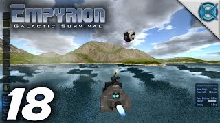 "Empyrion Galactic Survival -Ep. 18- ""HV Turret vs Drone"" -Gameplay / Let's Play- (S-4)"