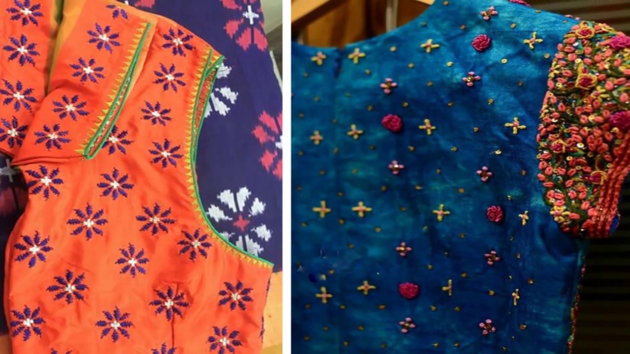Simple Thread Work Blouse Designs For Every Women Thread