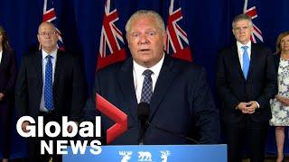 Coronavirus: Ontario to provide municipalities with $4B in funding