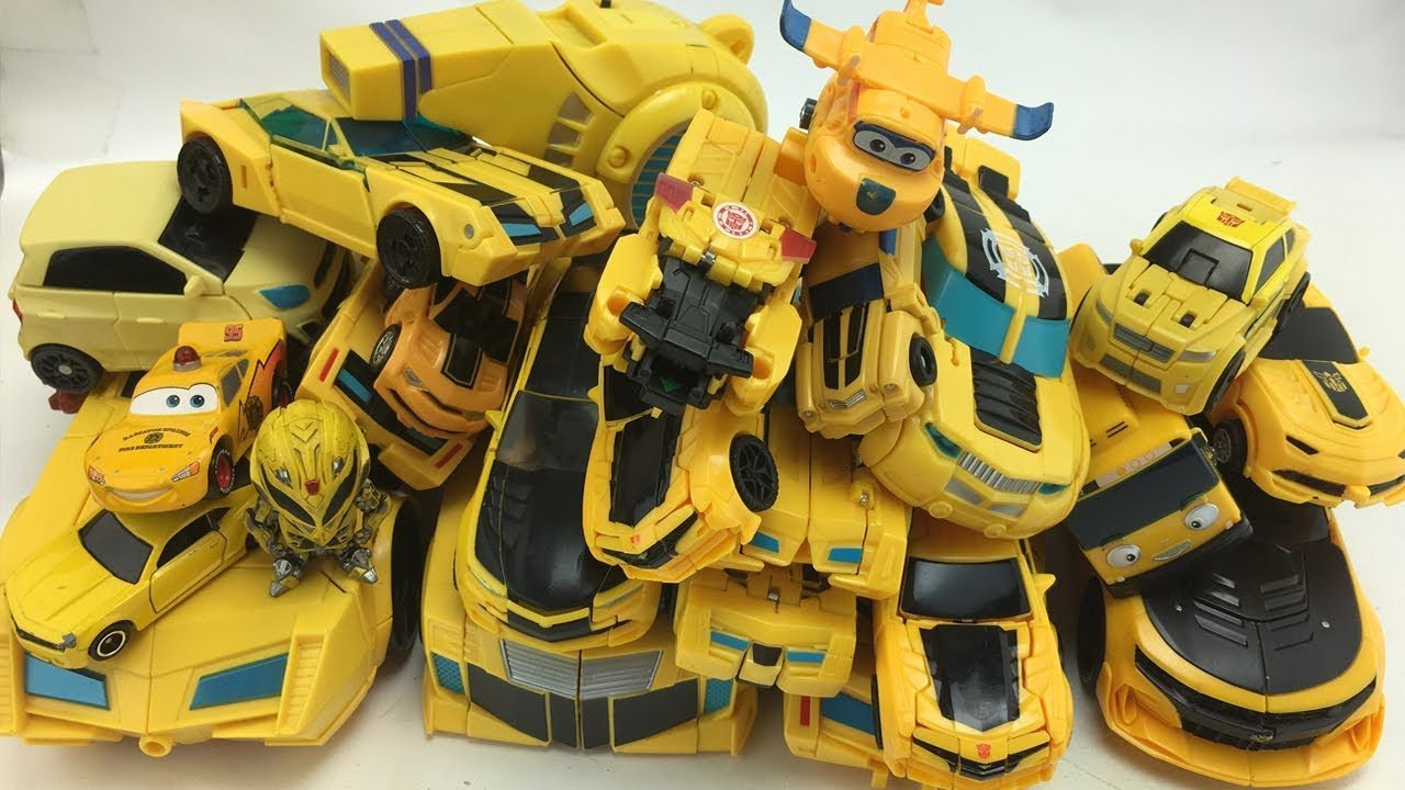Yellow Superheroes Color Transformers Bumblebee Carbot