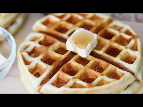 How To Make Easy Waffles! - MANCAKE