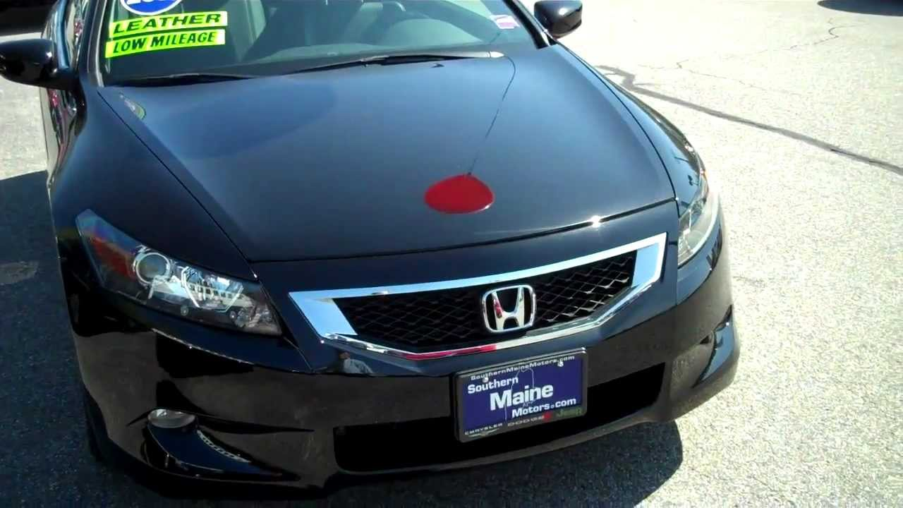 Used 2010 honda accord coupe stk j6969a southern maine for Southern maine motors saco maine