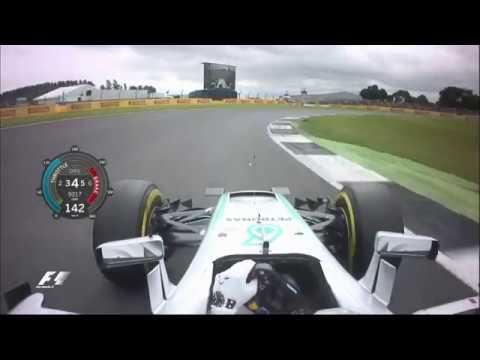 2016 British Grand Prix | Lewis Hamilton's Pole Lap
