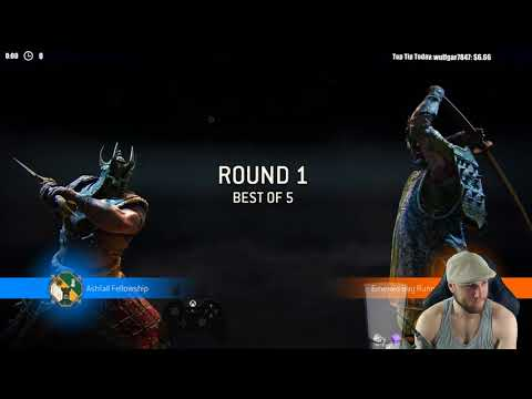 For Honor TOURNAMENT #6 - CAN WE GET ANOTHER WITH RAIDER BOYS?!