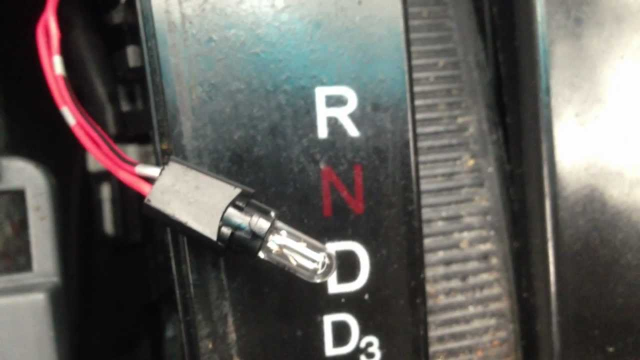 How To Change A Gear Shifter Light On A 2003 Honda Accord