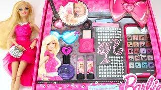 Barbie Deluxe Makeup Cosmetic Set💄Glitter Lip Gloss Unique Boutique 2