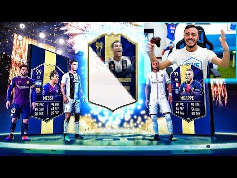 ATTACCANTI TOTY + ICON PRIME IN A PACK!!!!!!! *1000€ DI PACCHETTI* | FIFA 19 ITA