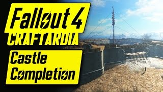 Fallout 4 Castle Completion - Base Building Timelapse - Fallout 4 Settlement Building CRAFTARDIA