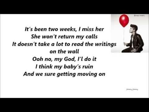 Bruno Mars - I Gotta Hate Her [Audio+Lyrics] Mp3