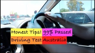 99% Passed Driving Test Australia. Here The Honest Tips