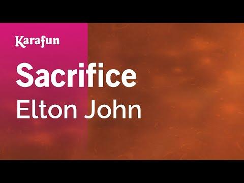 Karaoke Sacrifice - Elton John *